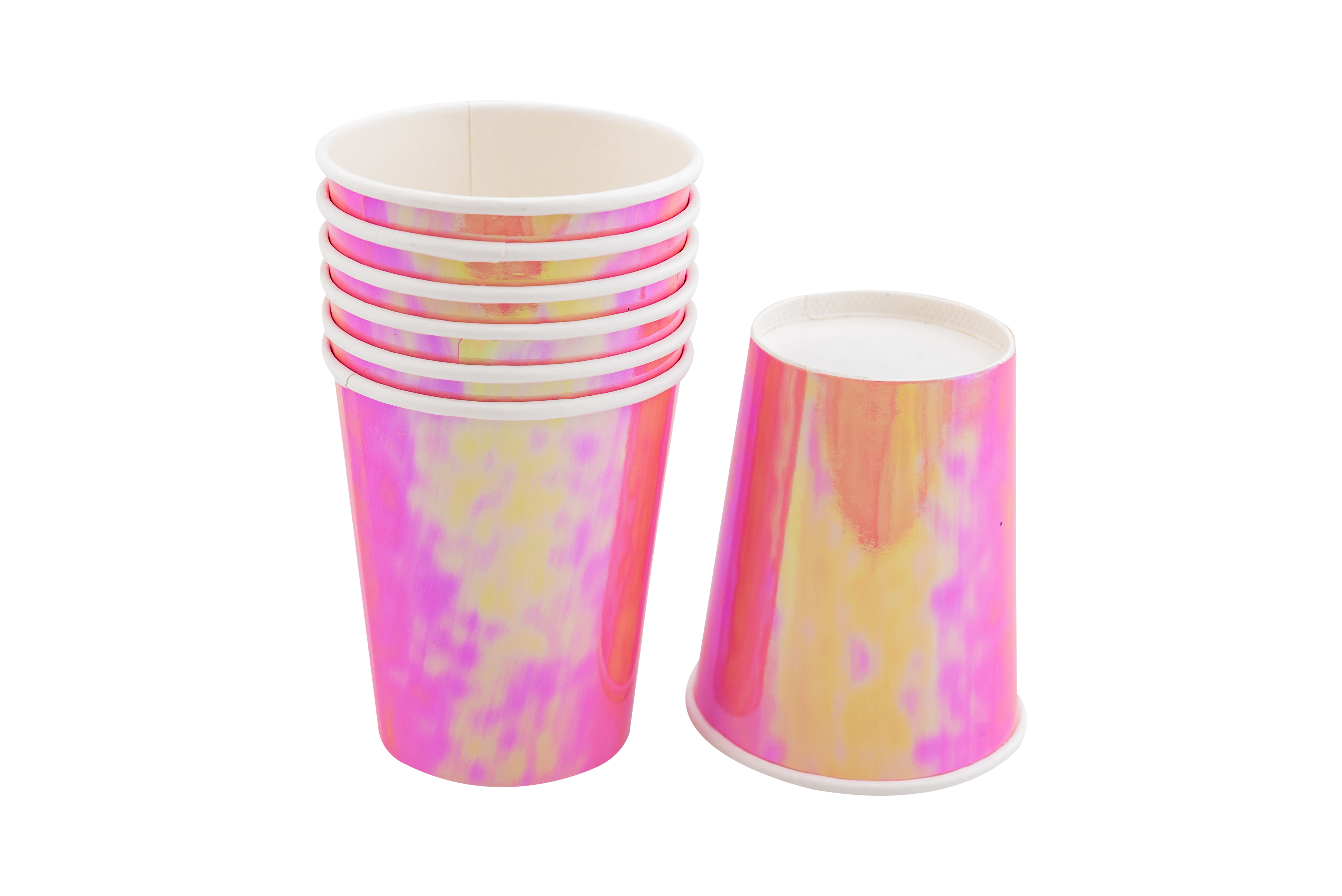 כוסות נייר אולטרה ורוד