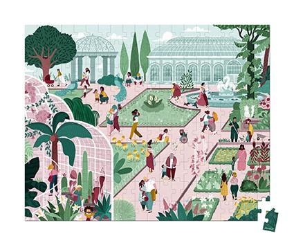 פאזל 200 חלקים – גן בוטאני