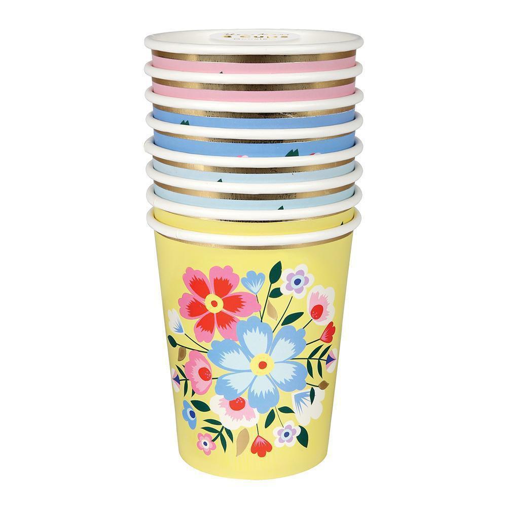 כוסות פרחים - Meri Meri