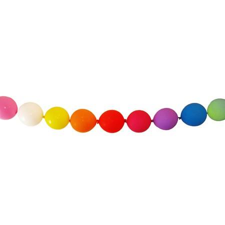 בלוני שרשרת צבעוניים