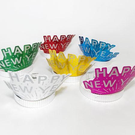 כתר צבעוני Happy New Year