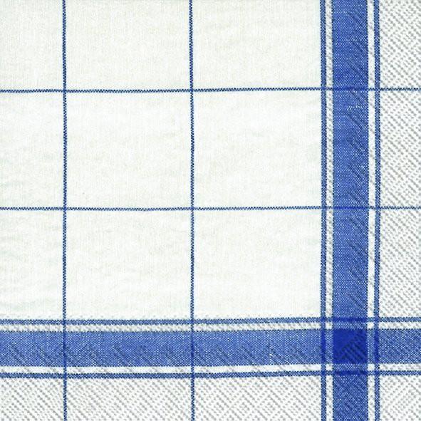 מפיות משבצות פס כחול