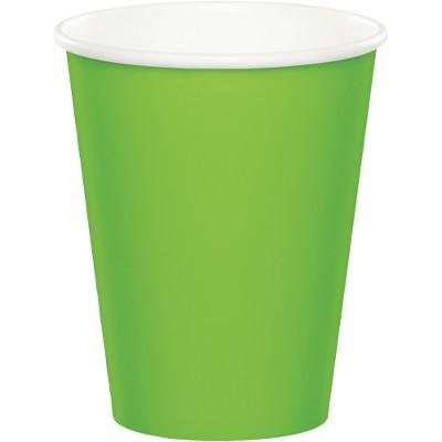 כוסות נייר ירוק בהיר