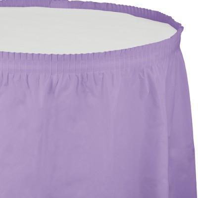 חצאית לשולחן לילך