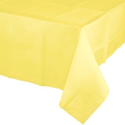 מפת ניילון צהוב מימוזה