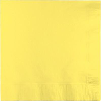 מפיות גדולות 2 שכבות צהוב מימוזה
