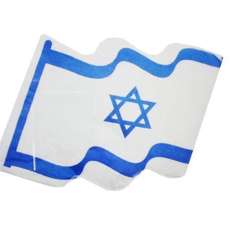 מפיות דגל ישראל, מפיות ליום העצמאות