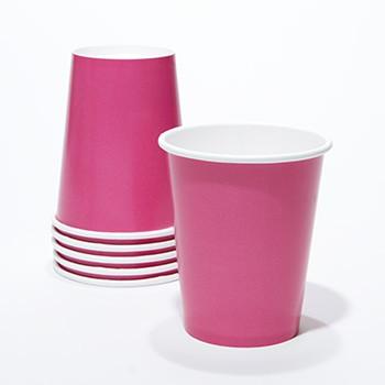 כוסות נייר פוקסיה