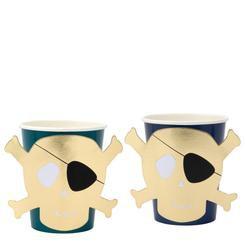 כוסות גולגולת - Meri Meri