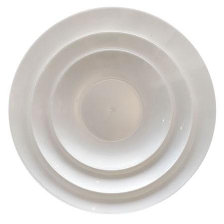 צלחות מרק לבן פנינה
