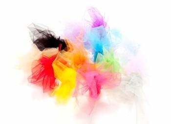 טול במבחר צבעים