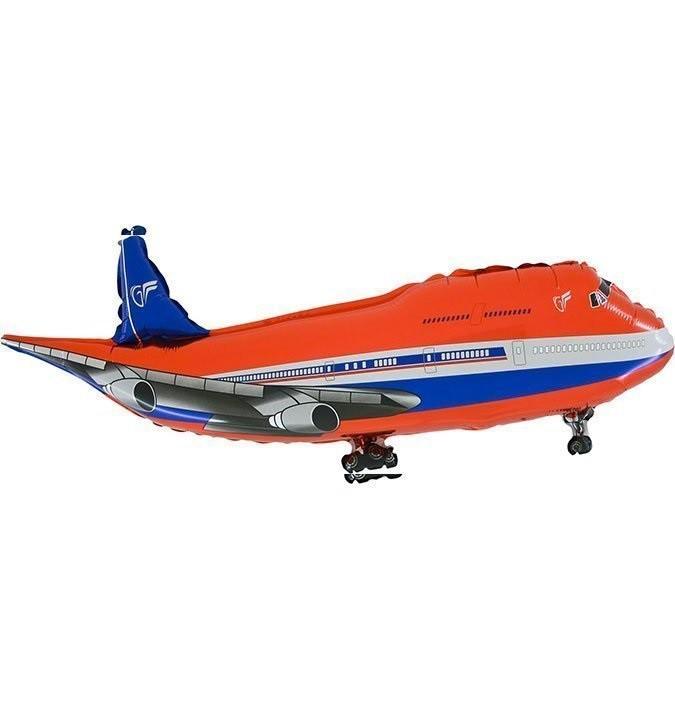 בלון מטוס אדום, בלון, מטוס, מטוס אדום, מסוסים, בלון מטוס, הליום, בלונים, בלון