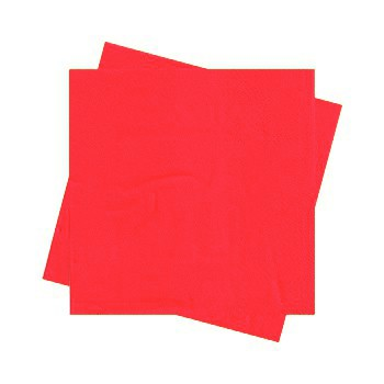 מפיות גדולות בצבע אדום