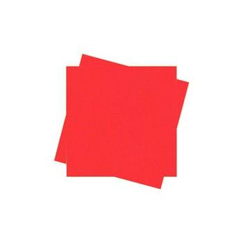 מפיות קוקטיל בצבע אדום