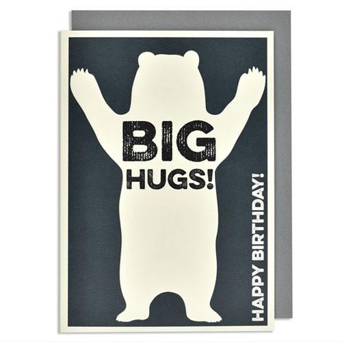 כרטיס ברכה יום הולדת - big hugs