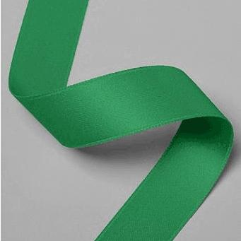 """גליל סרט סאטן ירוק עובי 1.5 ס""""מ"""