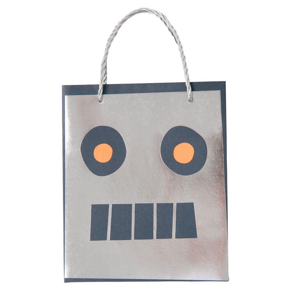 שקיות יום הולדת רובוט - Meri Meri, כוסות חלל - Meri Meri,, Meri Meri, חלל, כוכב, כוכבים, אסטרונאוט, יום הולדת, מסיבת יום הולדת חלל, מסיבת חלל, כוס חלל, סוסות חלל, טיל, טילים, רובוט, רובוטים, יום הולדת רובוט