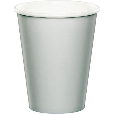 כוסות נייר כסף