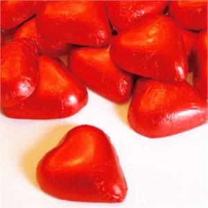 שוקולד לב אדום