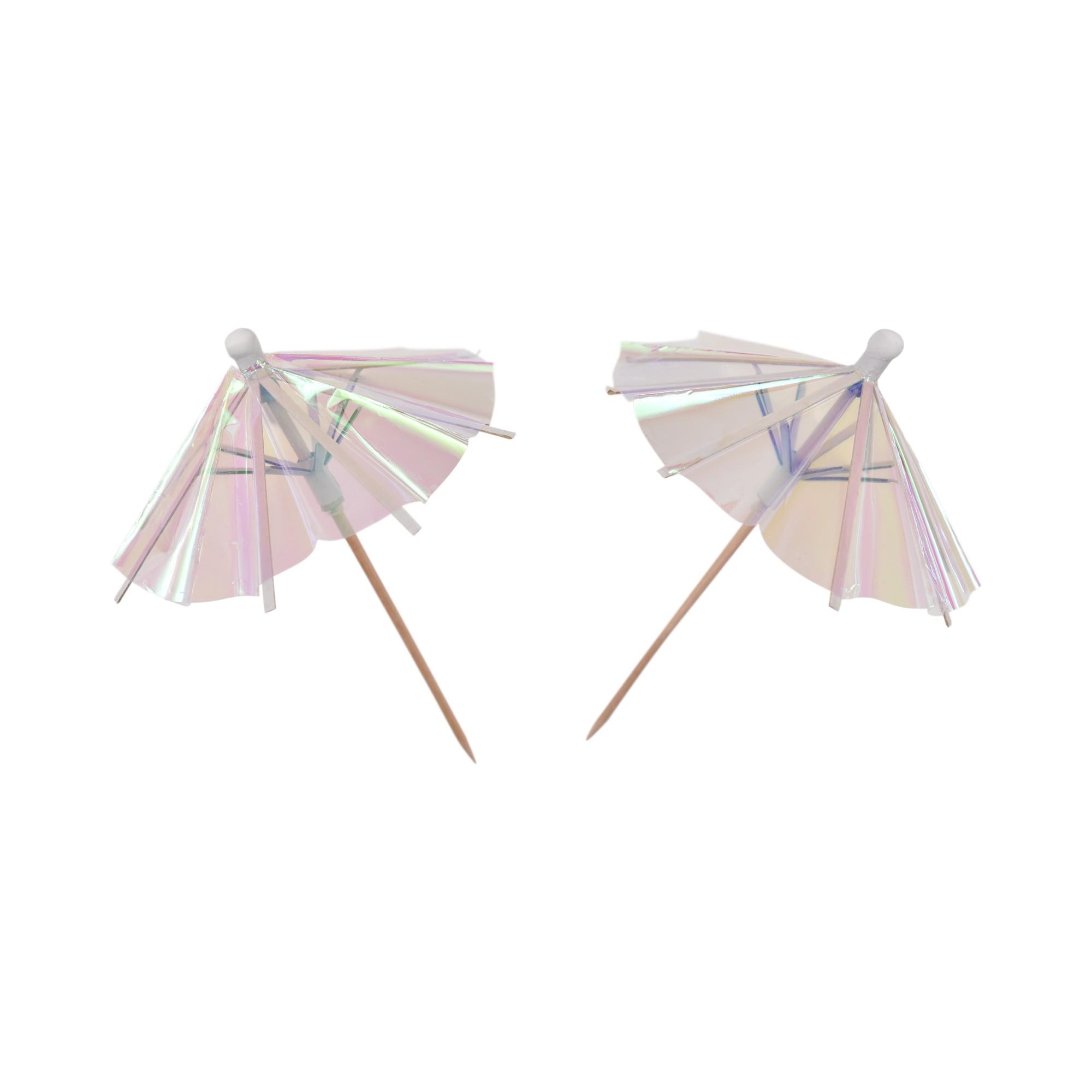 קסמי מטריות לכוסות אולטרה לבן