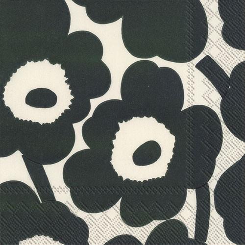 מפיות מרימקו- פרחים ירוק כהה