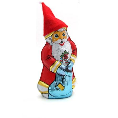 שוקולד סנטה קלאוס עם כובע לבד