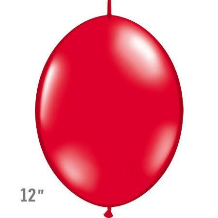 בלוני שרשרת בצבע אדום
