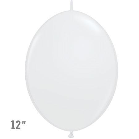 בלוני שרשרת בצבע לבן