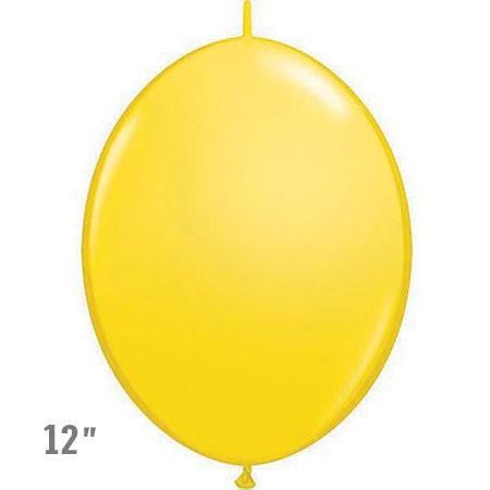 בלוני שרשרת בצבע צהוב