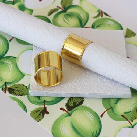 חבק, חבקים, חבק למפית, חבקים למפיות, ערב חג, ארוחת חג, ראש השנה, שולחן חג, חבק זהב