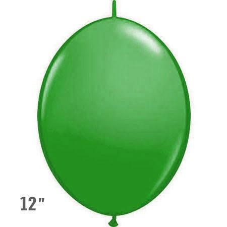 בלוני שרשרת בצבע ירוק