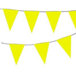 שרשרת דגלונים צהובה