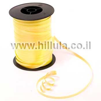 סרט בלונים צהוב