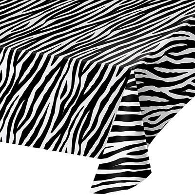 מפת ניילון בהדפס זברה