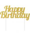 קייק טופר זהב יום הולדת