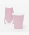כוסות נייר צבע ורוד בייבי