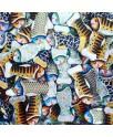 מארז דגי שוקולד צבעוניים 250 גרם