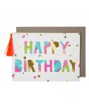 כרטיס ברכה צבעונית יום הולדת - Meri Meri