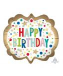 בלון Happy Birthday גדול
