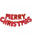 סט בלוני אותיות merry christmas- ניפוח לעצמי
