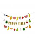שרשרת PARTY TIME פירות- Meri Meri
