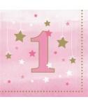 מפיות יום הולדת שנה - בת
