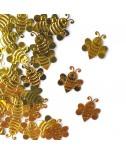קונפטי דבורים- זהב