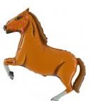 בלון סוס חום