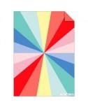 נייר עטיפה גלגל הצבעים - Meri Meri