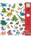 מדבקות - דינוזאורים