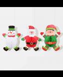 סט קישוטי תליה חג המולד
