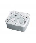 קופסת אוכל- פיל אפור