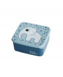 קופסת אוכל- פיל כחול