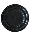 צלחות בינוניות סוהו שחור מנצנץ